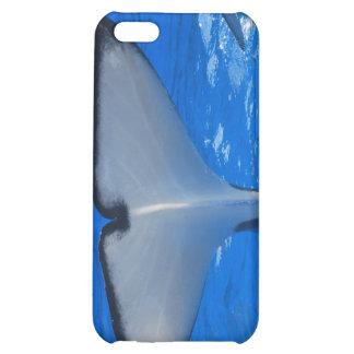 Cola de un caso del iPhone 4 de la ballena