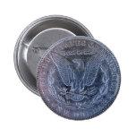Cola del dólar de plata de Morgan Pin