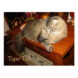 Cola del tigre postal