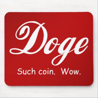 Cola Doge - Wow Mousepad