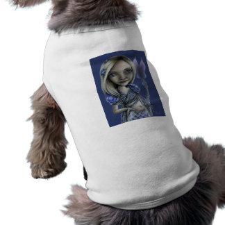 Cola flaca camiseta de mascota