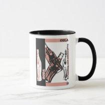 cola, classic, art, food, funny, drink, vintage, beverages, Mug with custom graphic design