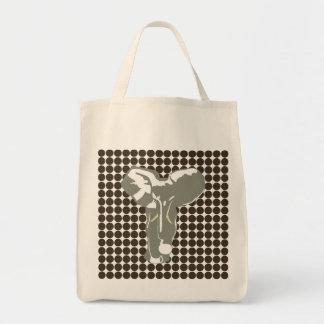 Cola Safari Dot with Pop Art Elephant Tote Bag