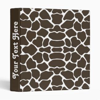 Cola Safari Giraffe with text Binder