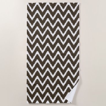 Beach Themed Cola Southern Cottage Chevrons Beach Towel