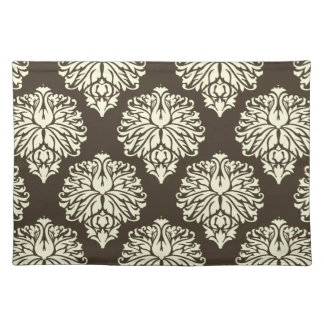 Cola Southern Cottage Damask Cloth Placemat