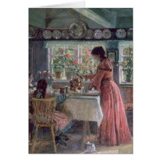 Colada de la mañana Coffee, 1906 Tarjeta De Felicitación