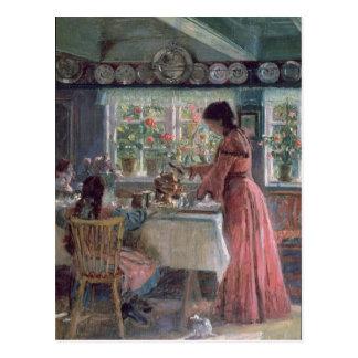 Colada de la mañana Coffee, 1906 Tarjeta Postal