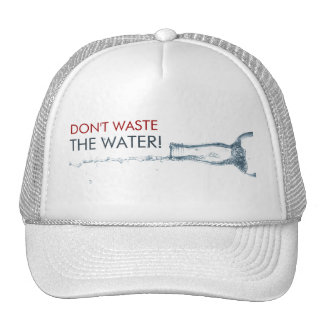 Colada del agua gorro