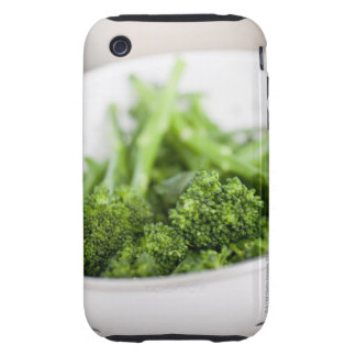 COLANDER FULL OF SUPERFOOD BROCCOLI TOUGH iPhone 3 CASE