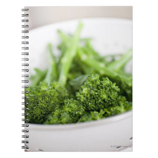 COLANDER FULL OF SUPERFOOD BROCCOLI NOTEBOOK