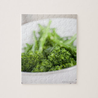 COLANDER FULL OF SUPERFOOD BROCCOLI PUZZLES