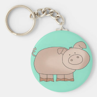 Colas del cerdo llaveros personalizados