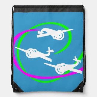 Colas vivas del vapor del salón aeronáutico de Fok Mochilas