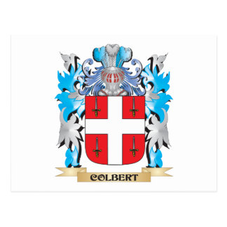 Colbert Coat of Arms - Family Crest Post Card