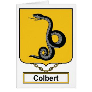 Colbert Family Crest Card
