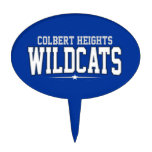 Colbert Heights High School; Wildcats Cake Toppers