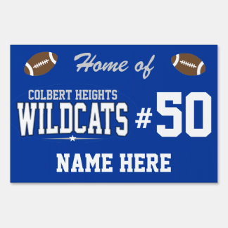Colbert Heights High School; Wildcats Yard Signs