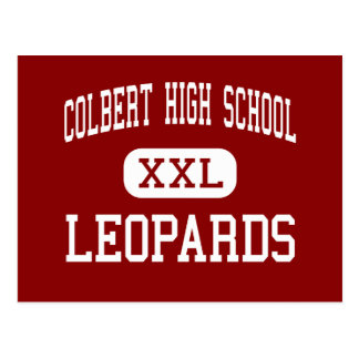 Colbert High School - Leopards - Middle - Colbert Post Cards