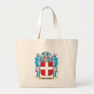 Colburn Coat of Arms - Family Crest Canvas Bags