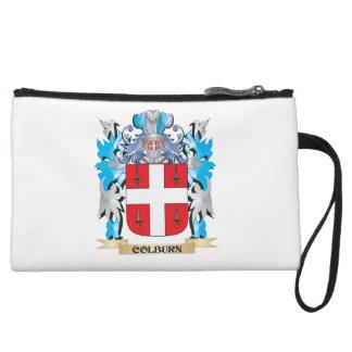 Colburn Coat of Arms - Family Crest Wristlet Purses