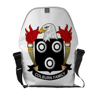 Colburn Family Crest Messenger Bags