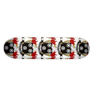Colburn Family Crest Skate Board