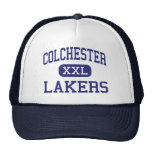 Colchester - Lakers - High - Colchester Vermont Trucker Hats