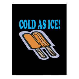 Cold As Ice Postcard