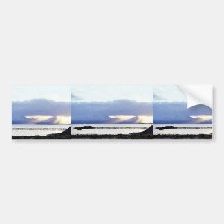 Cold Bay and Pier Car Bumper Sticker