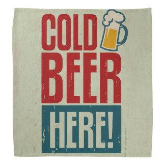 Cold Beer Bandana