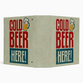 Cold Beer Binder