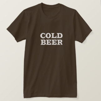 Cold Beer Dark T-Shirt