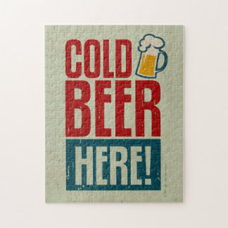 Cold Beer Jigsaw Puzzle