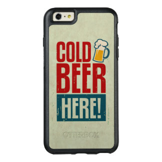 Cold Beer OtterBox iPhone 6/6s Plus Case