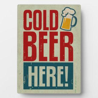 Cold Beer Plaque