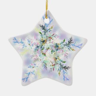 cold blast ceramic ornament