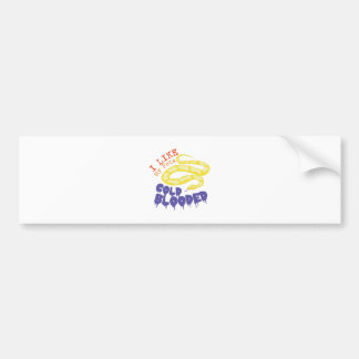 Cold Blooded Pets Car Bumper Sticker
