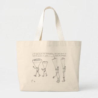 Cold Brass Large Tote Bag