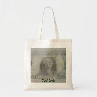 Cold Cash Tote Bag