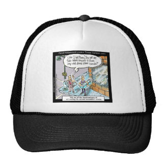 Cold Clean Hands W/Guns Funny Gifts & Tees Mesh Hat