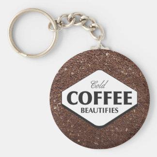 Cold Coffee Beautifies Keychain 3