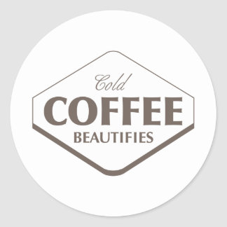 Cold Coffee Beautifies Sticker 2