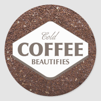 Cold Coffee Beautifies Sticker 4
