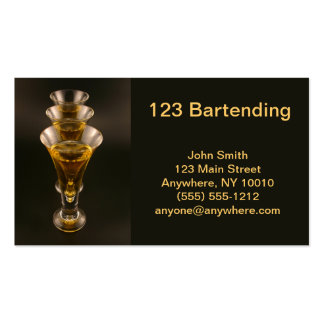 Cold Cordials Business Card
