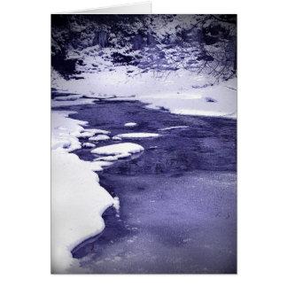 Cold Creek Card