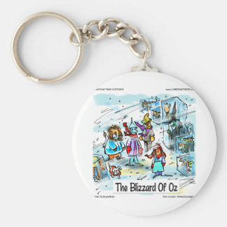 Cold Day In Oz Funny Tees Mugs Cards & Gifts Basic Round Button Keychain
