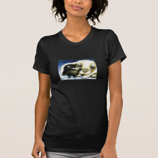 Cold December night T-shirt by Tanya Bond