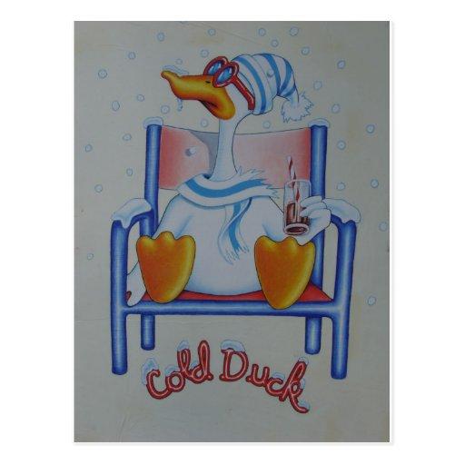 """Cold Duck"" Postcard"