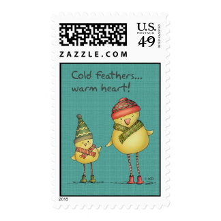 Cold Feathers - Postage